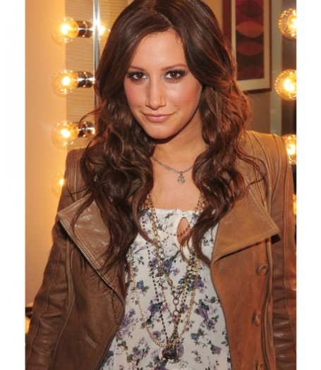 Ashley Tisdale Leather Jacket