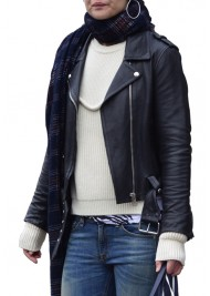 Miss Meadows Movie Katie Holmes Leather Jacket