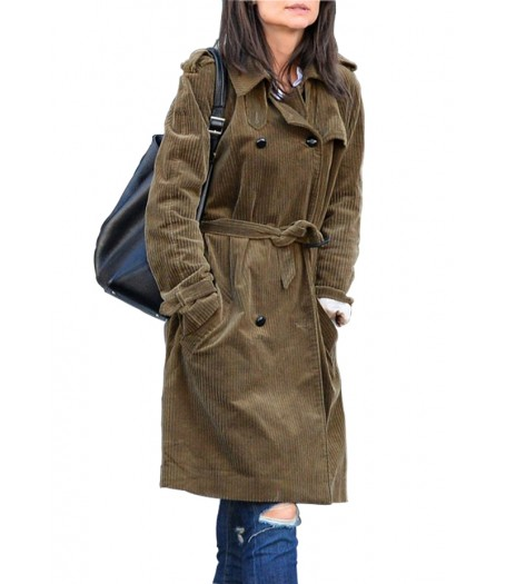 Miss Meadows Movie Katie Holmes Trench Coat