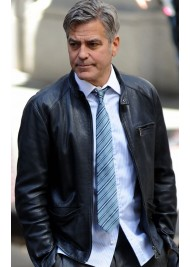 Money Monster George Clooney Leather Jacket