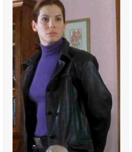 Murder By Numbers Sandra Bullock Leather Jacket