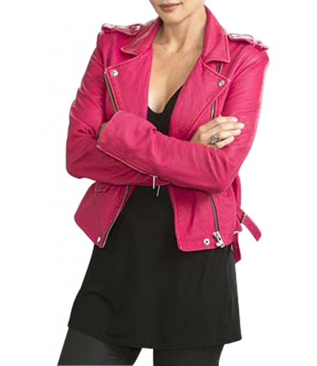 Nadia Paquet Backstrom Beatrice Rosen Leather Jacket