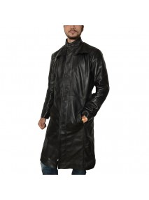 Keanu Reeves Neo Matrix Trench Coat