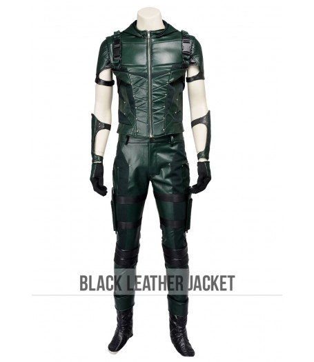 New Green Arrow Season 4 Costume