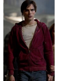 Nicholas Hoult (R) Warm Bodies Red Hoodie Jacket