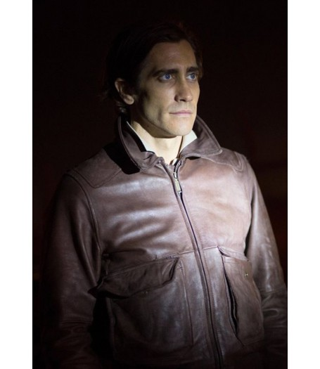 Lou Bloom Nightcrawler Jake Gyllenhaal Leather Jacket