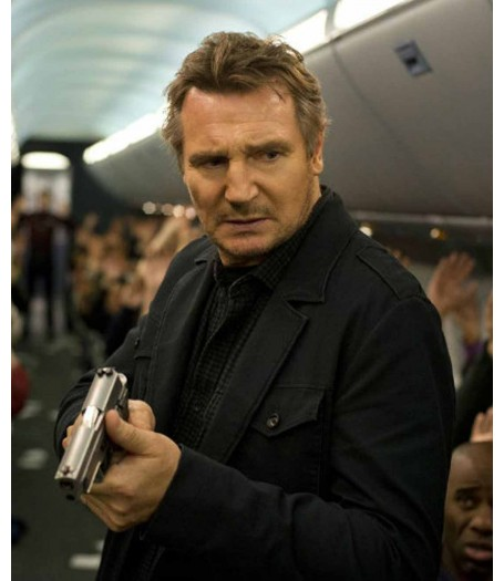 Non-Stop Liam Neeson Bill Marks Jacket Coat