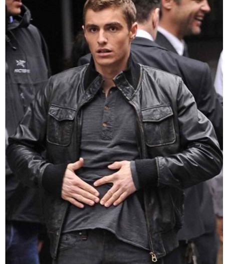 Now You See Me Dave Franco Leather Jacket