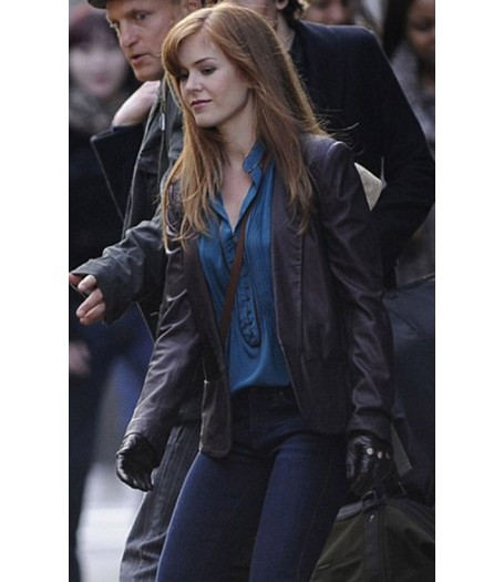 Now You See Me Isla Fisher Leather Jacket