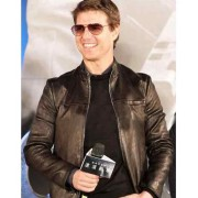 Oblivion Movie Taiwan Premiere Tom Cruise Leather Jacket