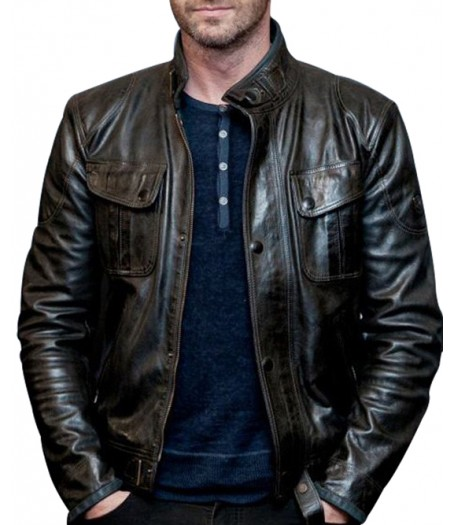 Mike Banning Olympus Has Fallen Gerard Butler Leather Jacket