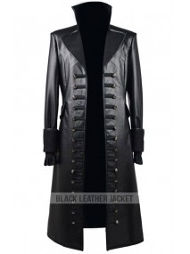 Once Upon a Time Captain Hook Leather Jacket