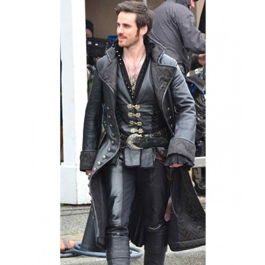 Once Upon A Time Captain Hook Jacket