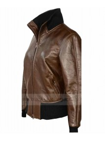 Jennifer Morrison Once Upon A Time Brown Leather Jacket