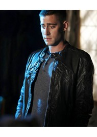 Once Upon A Time In Wonderland Michael Socha Leather Jacket
