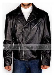 Captain Hook Once Upon a Time Killian Jones Leather Biker Jacket