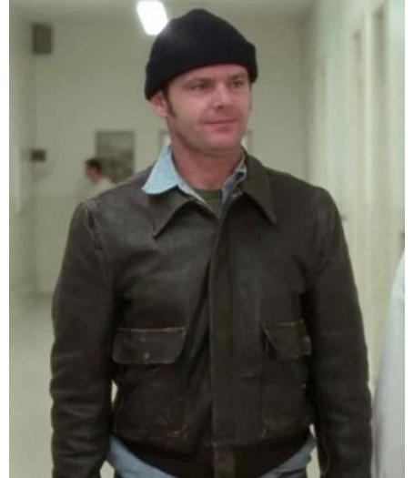 One Flew Over Mcmurphy Cuckoo's Nest Jack Nicholson Jacket