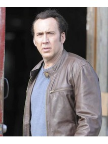 Paul Maguire Rage Movie Nicolas Cage Leather Jacket