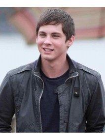 Percy Jackson Sea of Monsters Logan Lerman Leather Jacket