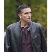 Person of Interest John Reese Leather Motorcycle Jacket
