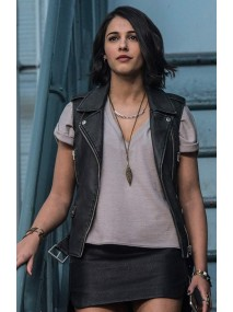 Naomi Scott Power Rangers Leather Vest