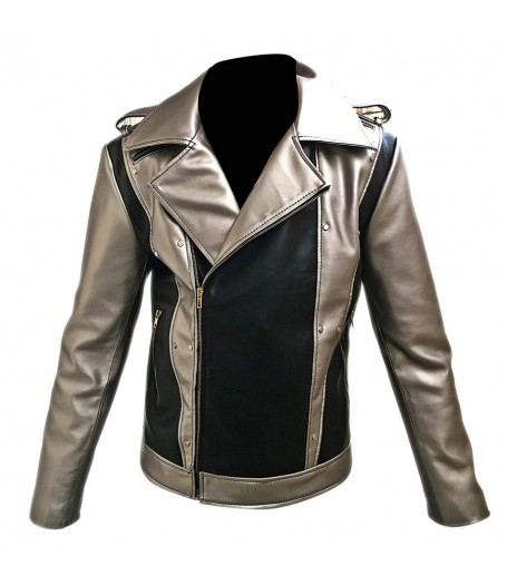 Evan Peters X-Men Apocalypse Leather Jacket