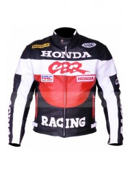 Racing Honda CBR Leather Motorcycle Jacket