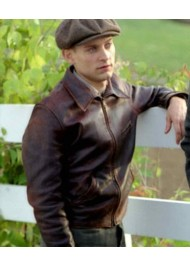 Red Pollard Seabiscuit Tobey Maguire Leather Jacket