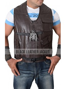 Leon Kennedy Resident Evil 6 Leather Vest