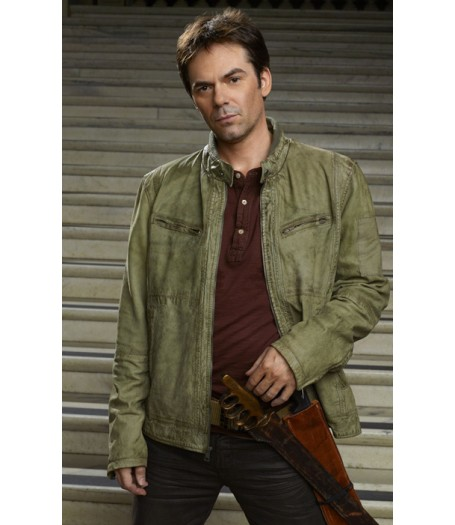 Billy Burke Revolution Miles Matheson Leather Jacket