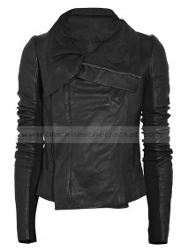 Taylor Swift Rick Owens Leather Biker Jacket
