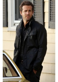 RIPD Nick Walker Ryan Reynolds Black Leather Jacket