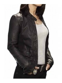 Robin Tunney The Mentalist Teresa Lisbon Leather Jacket