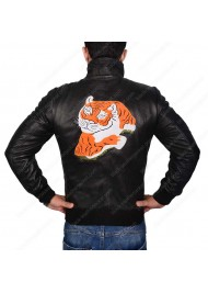 Sylvester Stallone Rocky Balboa Tiger Leather Jacket