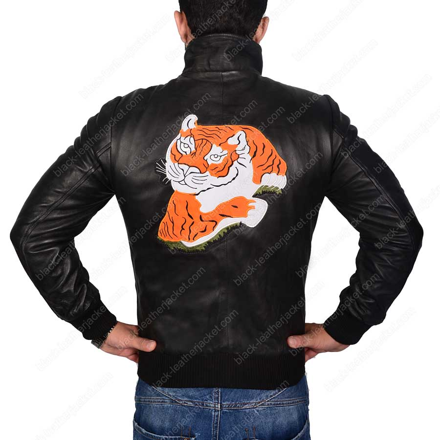 Rocky Balboa Sylvester Stallone Rocky 2 Tiger Leather Jacket