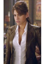 Roxanne Simpson Ghost Rider Eva Mendes Leather Jacket