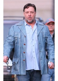 Russell Crowe The Nice Guys Jackson Healy Leather Jacket