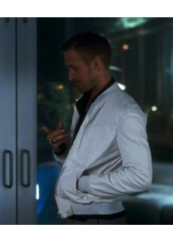 Ryan Gosling White Leather Jacket Crazy Stupid Love