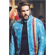 Ryan Reynolds Blade Trinity Hannibal King Leather Jacket