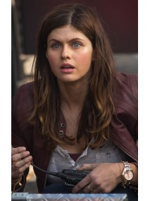 San Andreas Alexandra Daddario Leather Jacket
