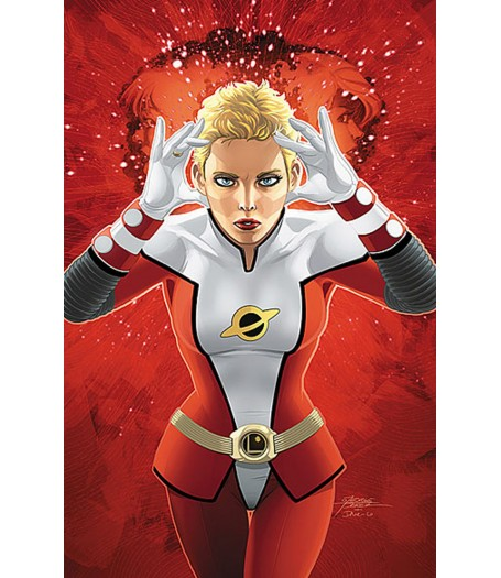 Saturn Girl Leather Jacket