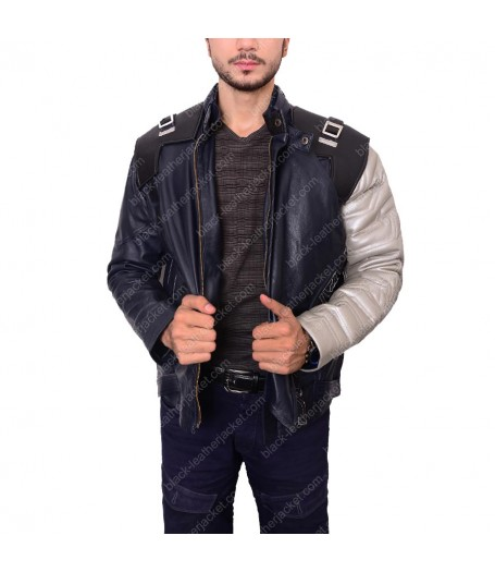 The Winter Soldier Bucky Barnes Silver Arm Jacket