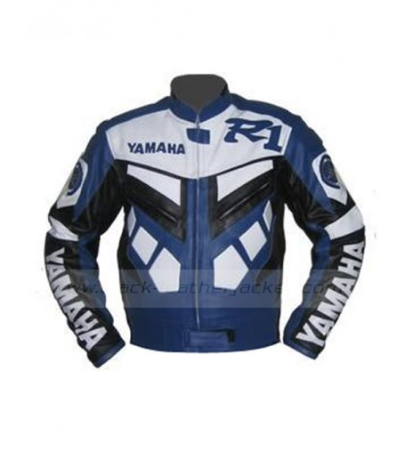 Series Yamaha R1 Blue Biker Jacket