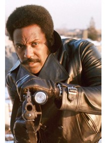 John Shaft 1971 Leather Jacket