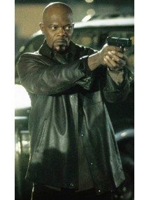 John Shaft 2000 Leather Jacket