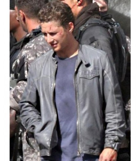 Shia Labeouf Transformers 3 Leather Jacket