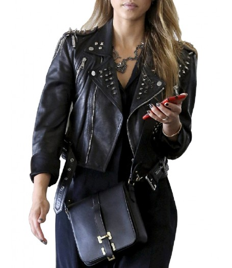 Jessica Alba Sin City A Dame To Kill For Nancy Callahan Leather Jacket