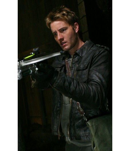 Smallville 10.20 Prophecy Justin Hartley Leather Jacket