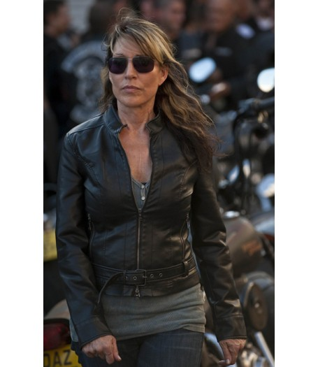 Sons of Anarchy Gemma Teller Morrow Leather Jacket