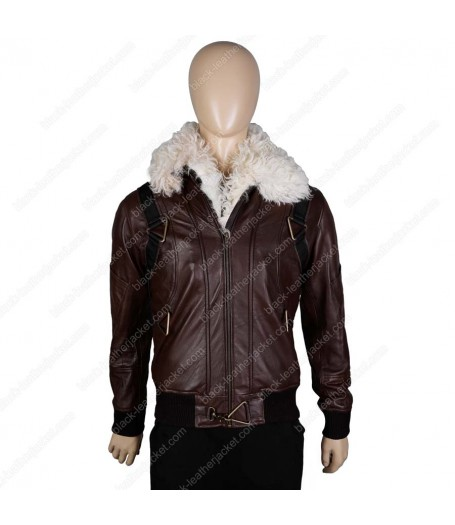 Spiderman Vulture Homecoming Leather Jacket